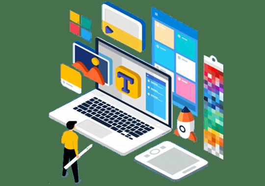 چگونگی طراحی یک سایت شرکتی